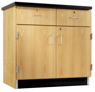 Diversified Woodcrafts Door/Drawer Base Cabinet - Oak