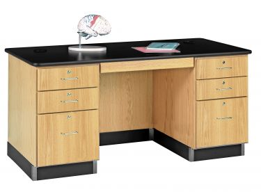 Diversified Woodcrafts 5' Teacher's Desk with Laminate Top
