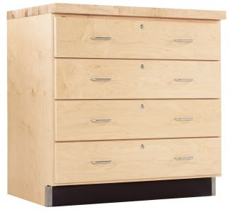 Diversified Woodcrafts Drawer Base Cabinet - Maple