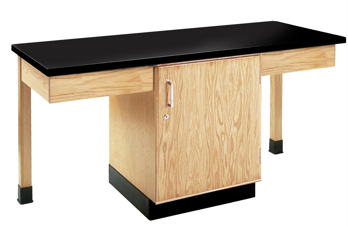 Diversified Woodcrafts 2 Station Table with Chemguard Top