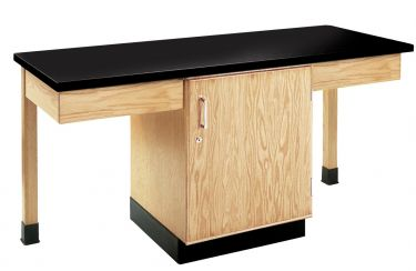 Diversified Woodcrafts 2 Station Table with Plastic Laminate Top