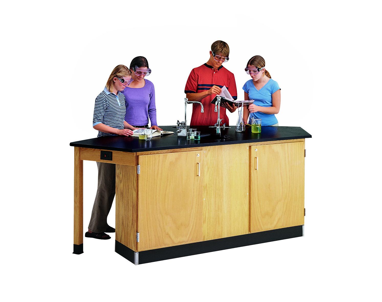 Diversified Woodcrafts Forward Vision I Student Workstation