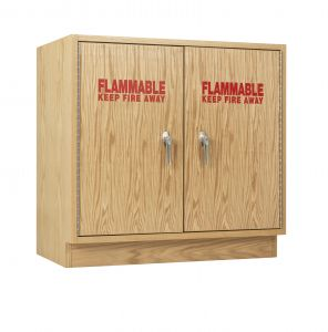 Diversified Woodcrafts Flammable Storage Double Cabinet