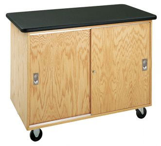 Diversified Woodcrafts Basic Mobile Storage Cabinet