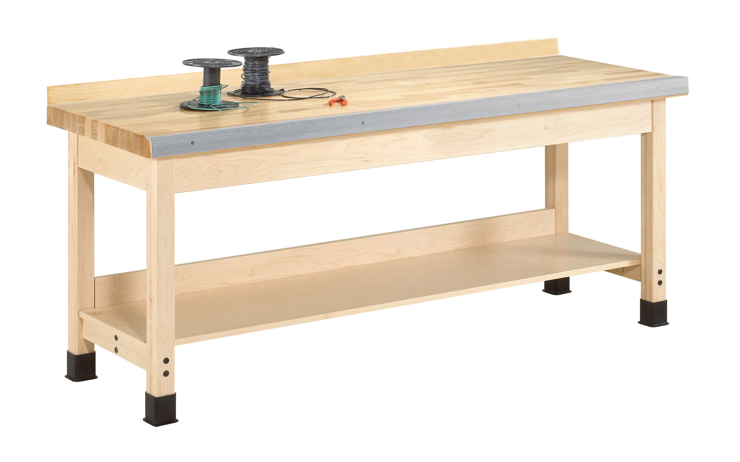 "Diversified Woodcrafts Auxiliary Wall Workbench - 32"" Height"