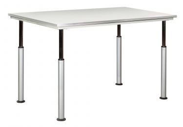 Diversified Woodcrafts ADA Adjustable Height Work Table, Gray