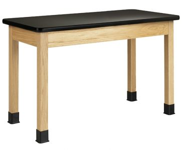 Diversified Woodcrafts Oak Science Table with Laminate Top