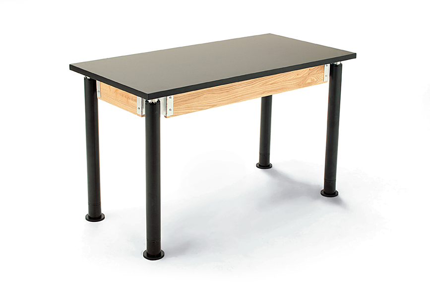 NPS Height Adjustable Phenolic Top Science Table